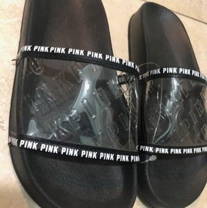 VS Pink Clear Slides